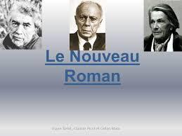 Le Nouveau Roman Mouvement Littéraire