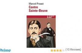Marcel Proust contre Sainte-Beuve