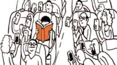 Lit-il le mode d'emploi d'une liseuse ou d'un smartphone ?
