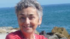 Antonia Delpopolo chez elle, en Méditerranée