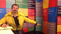 Nils Barrelon sur le stand mBS au Salon du Livre de Paris 2013