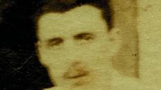 La dernière photo retrouvée d'Arthur Rimbaud, vraisemblablement à 37 ans à Aden au Yemen, l'année de sa mort