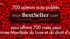 journée mondiale du livre : un livre une rose