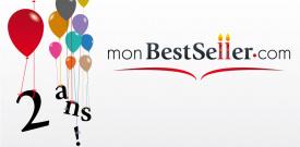 La plateforme d'auto publication monBestSeller.com fête 2 ans de succès