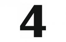 Le quatre est un chiffre magique. En littérature aussi ?