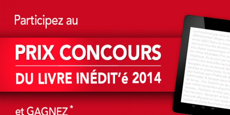 Prix concours du livre inédit'é 2014