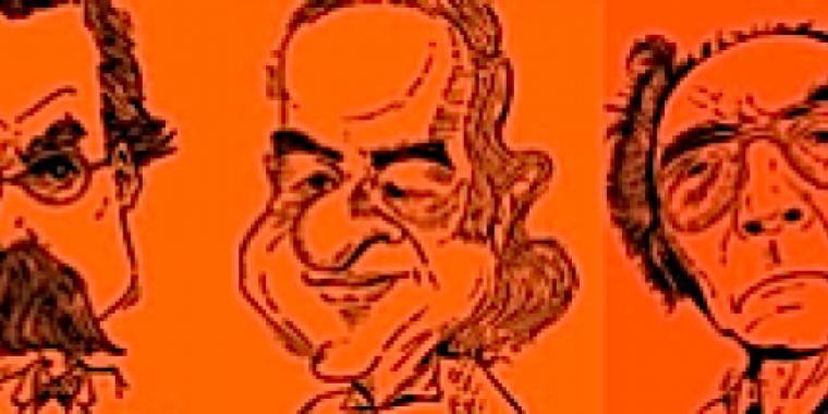 Friedrich Nietzsche, Vinicius de Moraes, José Saramago tweetent