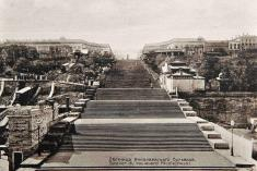 Les escaliers d'Odessa, théâtre de repressions et d'attrocités
