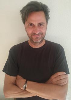 Frédéric Terrien, chez lui à Madrid
