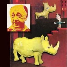 Choisir le français pour écrire ses livres. Ici Ionesco pour Rhinocéros.